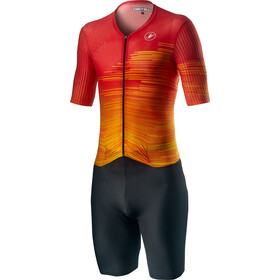 Castelli PR Speed Suit Heren, fiery red